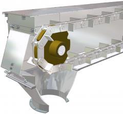 Conveyors chain (redler) for grain