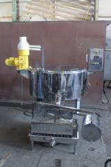 Cheese processing machine – pasteurizer
