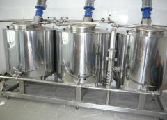 Резервуар, ванна для пищевой промышленности марки