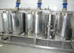 Confectionery cooking vats