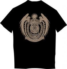 T-shirt black 3D HipHop-1567