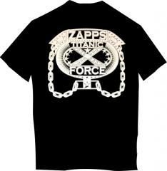 T-shirt black 3D HipHop-1776-12 webca