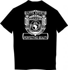 T-shirt black 3D HipHop-1776-14 webca