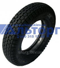 The tire K-96 4.00-10 on motor scooter