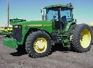 The John Deere 8400 tractor power is 272 h.p.