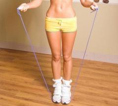 Jump rope electronic bearing