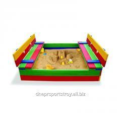 The sandbox is children's