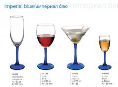 Pashabakhche's ware, Wine glasses, glasses