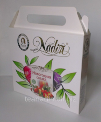 Tea in New Year's gift packaging