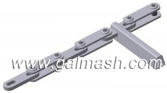 Conveyors scraper for TSG pus - 2B for the