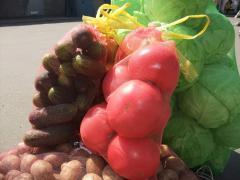 Packing grid vegetable