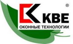 Однокамерное двустворчатое окно KBE купить в Киеве