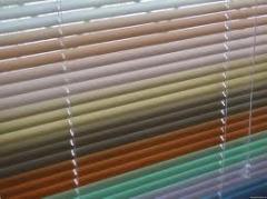 Жалюзи горизонтальные цветные купить в Киеве
