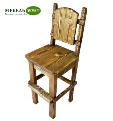 Semi-antique bar stool