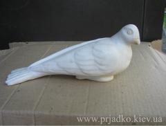 Голубь из мрамора. Скульптура голубя. Цена 6 тыс.грн.
