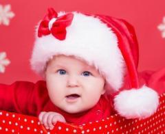 New Year's cap of Santa, cap, Santa's