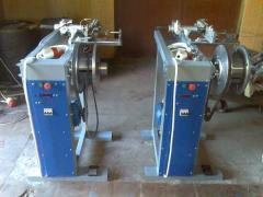 Machines for winding of lengthy materials