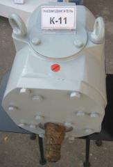 Production of kosozuby K11ML pneumomotors