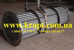 Pipe bunch from stainless steel