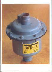 Изолирующее фланцевое соединение и фильтр газовый