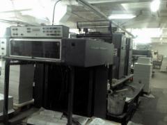 Offset two-colourful machine Heidelberg SM 102P