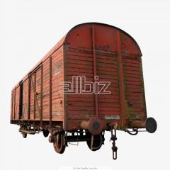 Second-hand freight cars, repair of cars