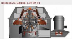 Centrifuges filtering TsfShnV-1,00-VM-01