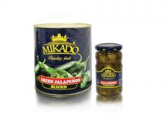 Halapenyo pickled peppers, 580 ml, 3100 ml