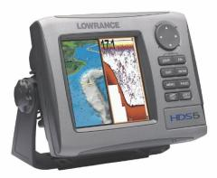 CAMERAS I LOWRANCE HDS-5 83/200 KHZ NAVIGATORS