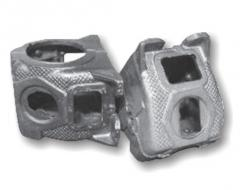 Molding of products from steel, cast iron, EVEN