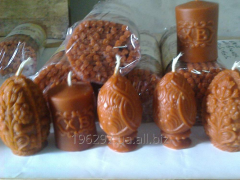 Handwork candles, production, realization