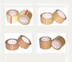 Adhesive tape (brown, transparent)