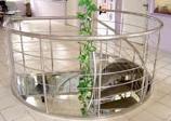Ограждение атриумов, балконов, лестниц