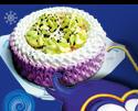 Торт мороженное Зимняя фея