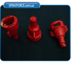 FD - the deflektorny sprayer for liquid