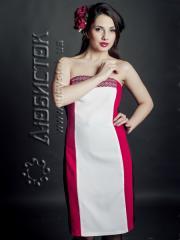 Вышитое модное платье ЖП 56-49 ТМ Любисток