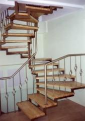 Лестницы кованые Л-02