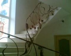 Лестницы, перила кованые Л-04