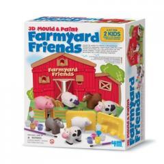 Веселая ферма Фигурки из гипса