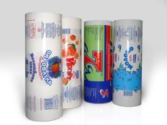 Краски для упаковок молока, кисломолочных