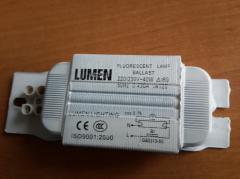 Дроссель для люминесцентных ламп Lumen 220/230V