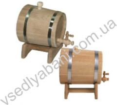Flank jug oak, lime on 10 l. also is available any