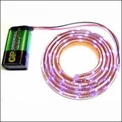 LED tape (1 meter, 60 blue light-emitting diodes)