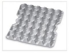 Cardboard trays for eggs