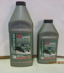 Тормозная жидкость ТСХ-Synthetic класса ДОТ-4