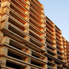 Pallets wooden