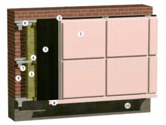 Фасадні касети з оцинкованої сталі