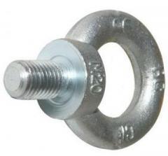 Eye bolts (rigging) of DIN 580