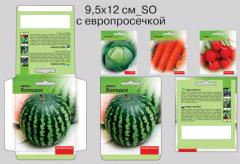 Packing with a logo Packages for seeds 9,5*12_SO