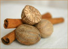 The nutmeg is whole, ABCD
